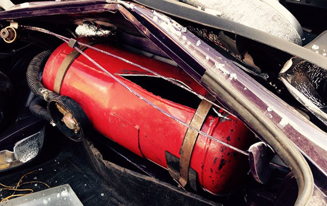 Взрыв газового баллона в машине: причины взрывов метана и пропана, безопасность ГБО 2-4 поколения